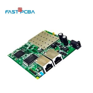 Single layer printed circuit board for power system